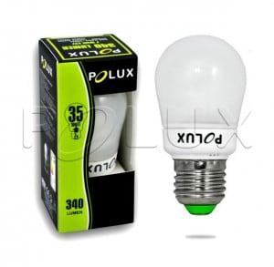 Świetlówka energooszczędna POLUX A45 FS 7W E27 2700K