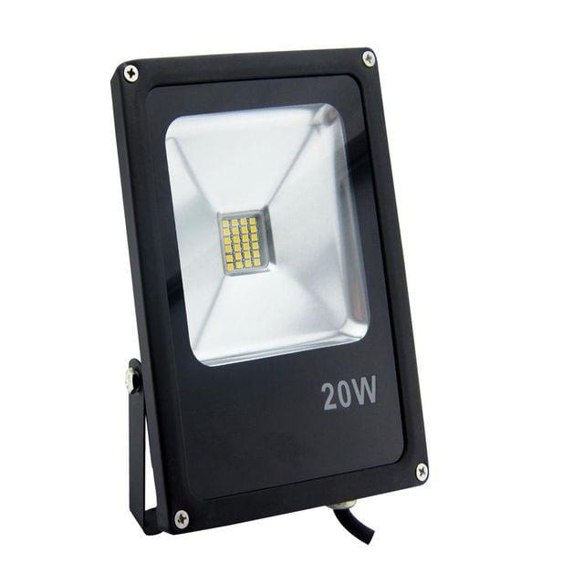Projector LED POLUX 20W IP65 black