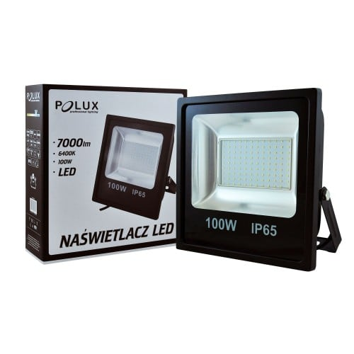 Projector LED POLUX 100W IP65 black