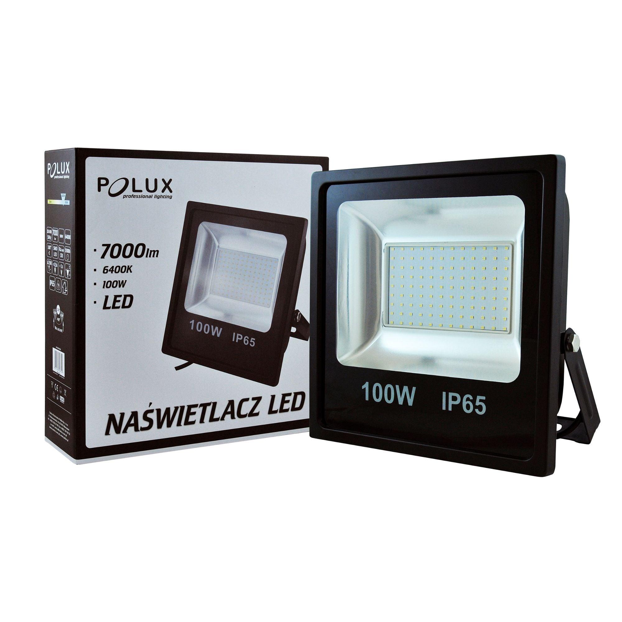 Projector LED POLUX 100W IP65 black
