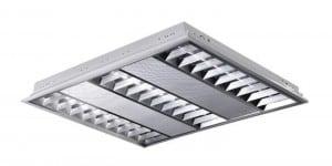 Oprawa rastrowa LED podtynkowa POLUX ProBUS M06A39KADW 60x60