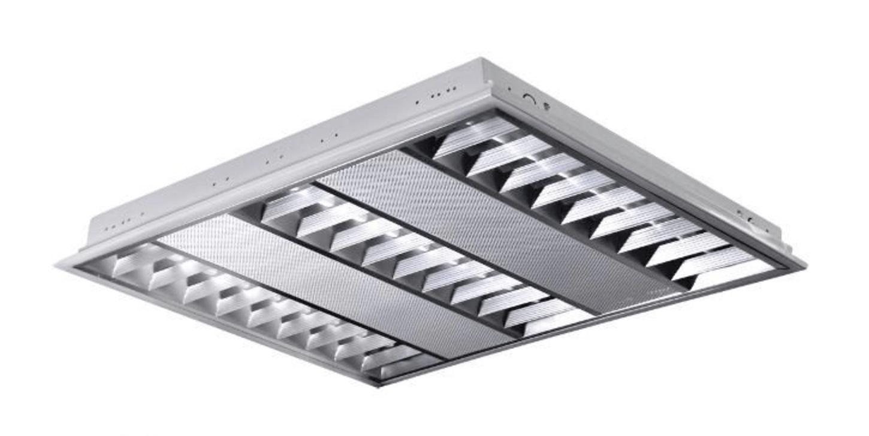Polished recessed LED luminaire POLUX ProBUS M06A39KADW 60x60