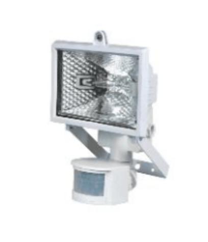 Projektor halogenowy POLUX PH78WSR z czujnikiem biały