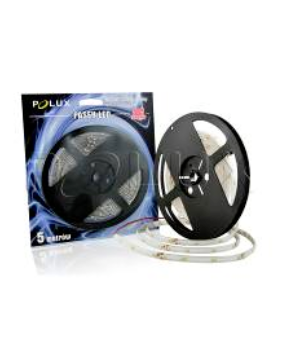 Polux LED strip 5m 8 W cold white IP20