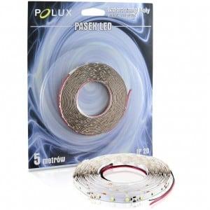 Taśma LED Polux 5 m IP20 1000 lumenów barwa zimna biała