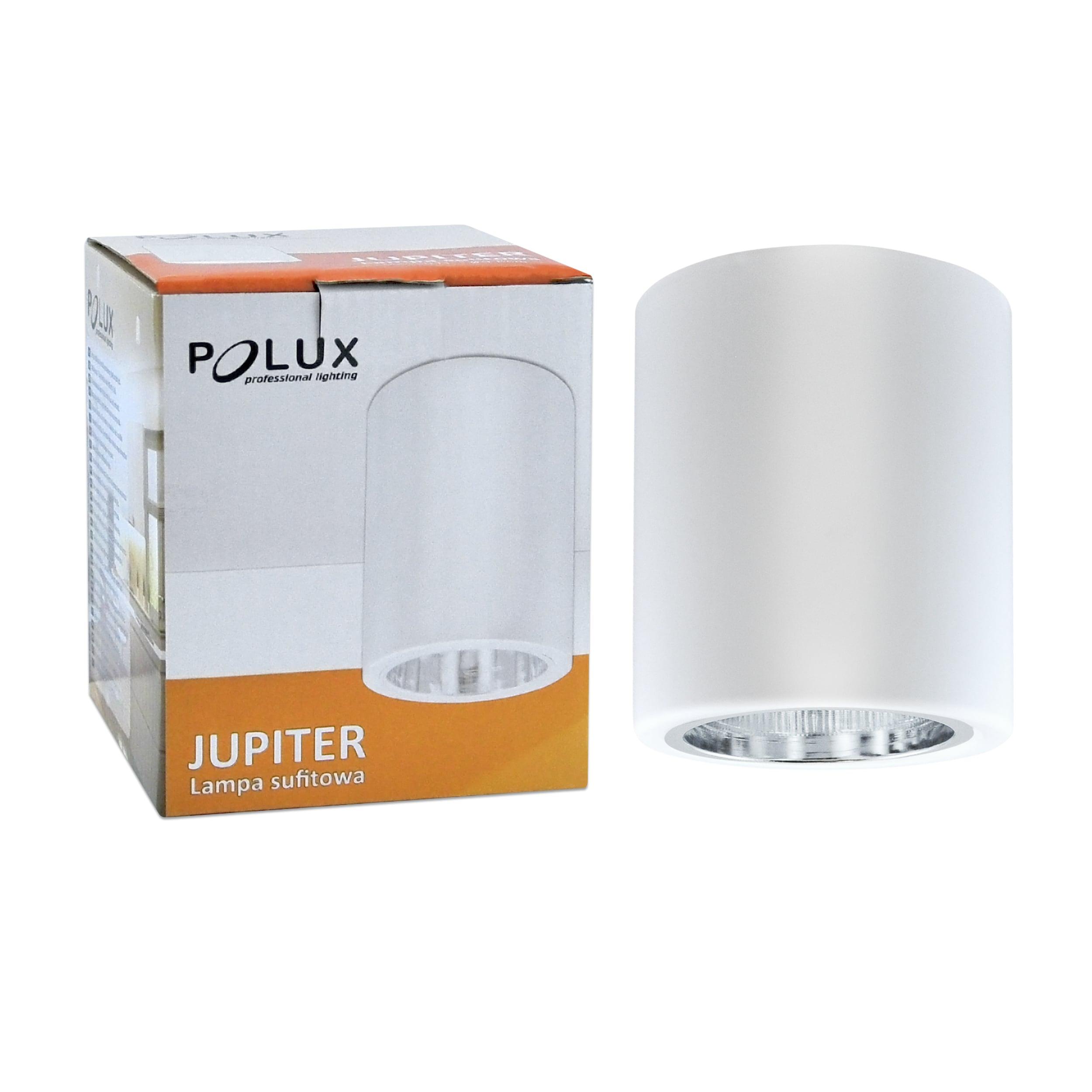 Surface mounted metal luminaire POLUX JUPITER MD-3011 white