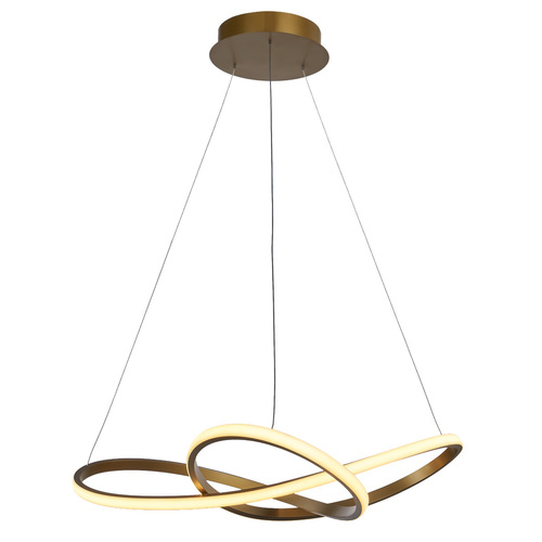 Vita LED Gold Pendant Lamp