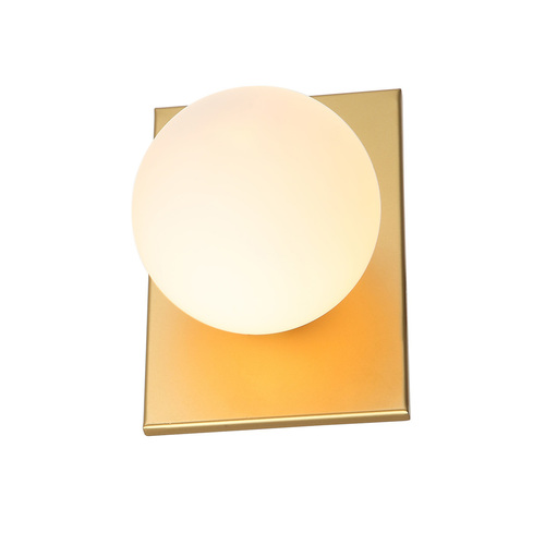 Mediamo G9 modern gold wall lamp