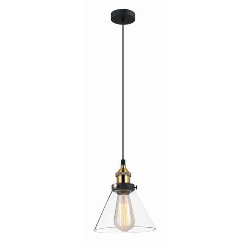 Black Hanging Lamp Getan E27