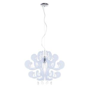 White Emporio E27 Pendant Lamp small 1