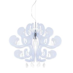 White Emporio E27 Pendant Lamp small 0