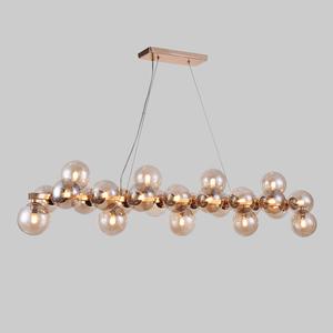 Gold Cabella G9 Pendant Lamp 25-bulb small 1