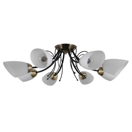 Cristina E27 8-bulb living room chandelier