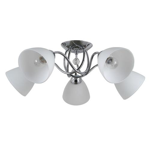 Stylized Lamp Lugano E27 5-bulb