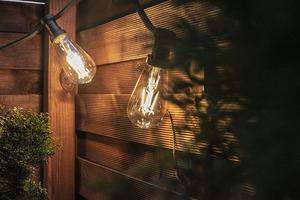 Decorative warm LED filament bulb Vintage Amber 2000K 320lm 4W small 1