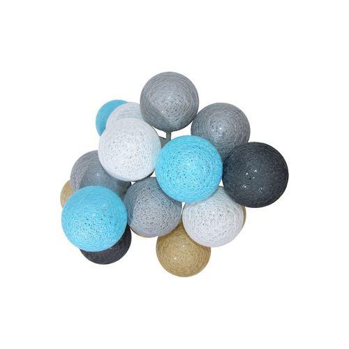 Multicolor LED Cotton Balls 20 Pcs.