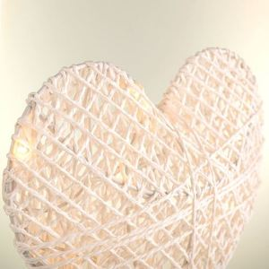 Plastic Heart Standing With Led Yarn small 1