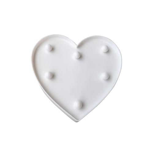 Plastic Led Heart