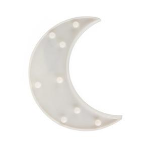 Moon Plastic Led 2 * Aa small 0