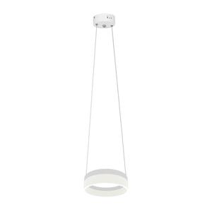 White Ring Pendant Lamp 12 W Led small 0