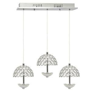 Crystal Pendant Lamp Venus 3 x 5 W Led small 1