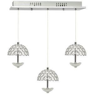 Crystal Pendant Lamp Venus 3 x 5 W Led small 0