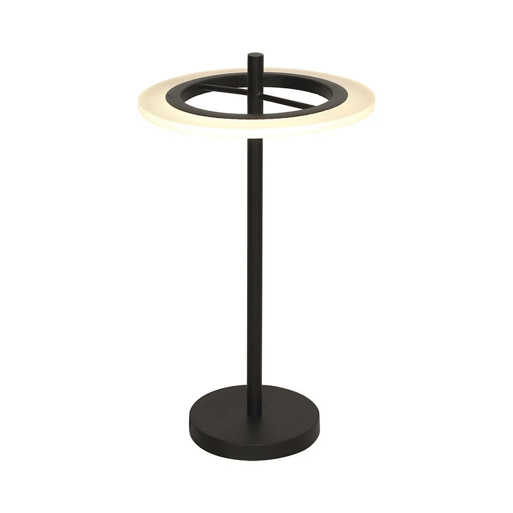 Black Cosmo 12 W LED Table Lamp