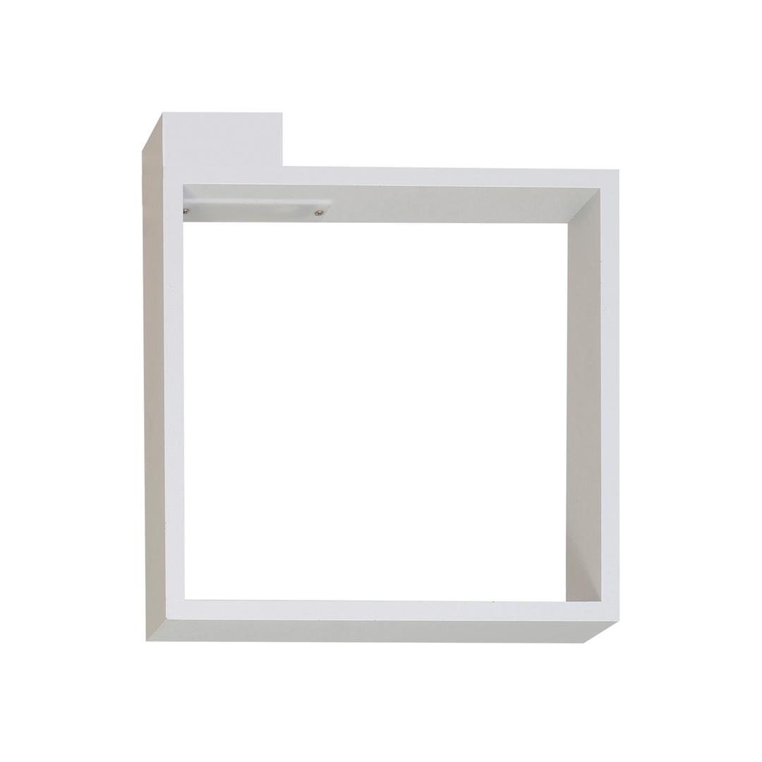White 6 W Led Frame Wall Lamp