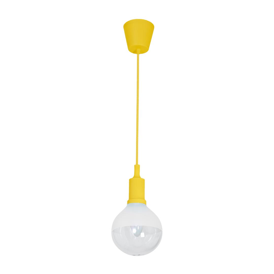 Hanging lamp Bubble Yellow 5 W E14 Led