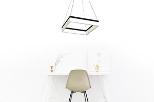Black Nero 32 W Led Pendant Lamp small 1