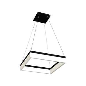 Black Nero 32 W Led Pendant Lamp small 0
