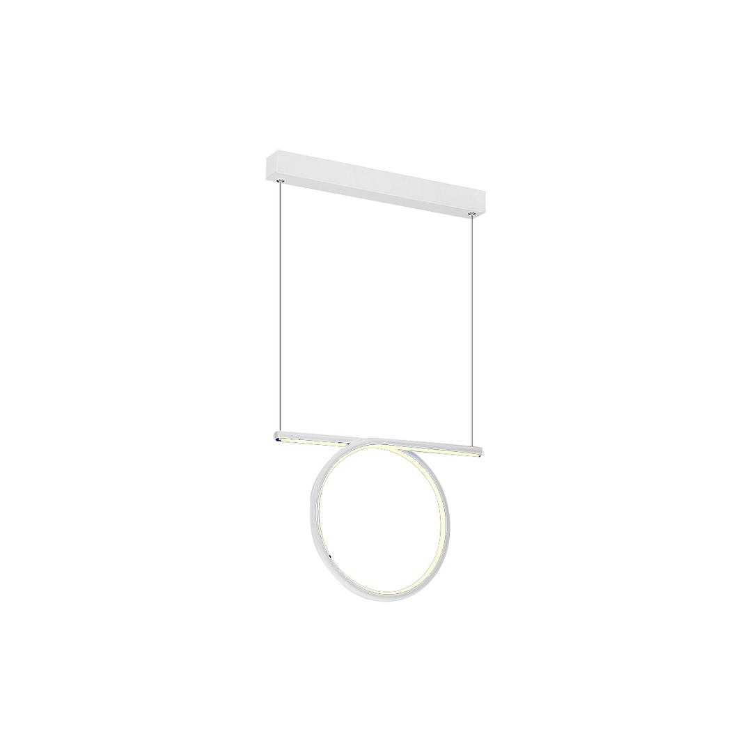20 W LED Loop White Pendant Lamp