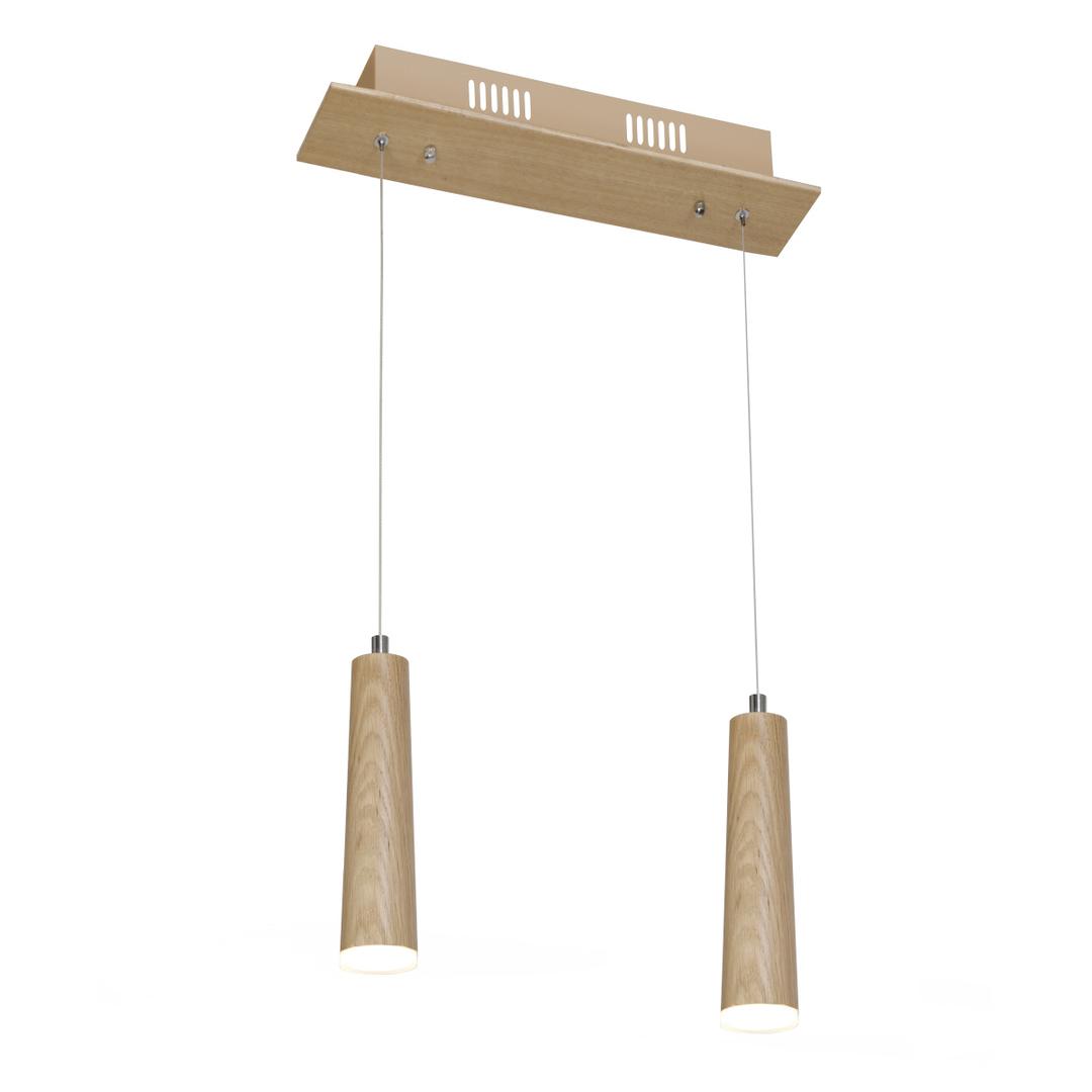 Wood Pendant Lamp Stick 10W Led