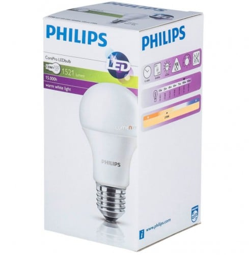 LED PHILIPS 13,5 W bulb E27 1521lm CorePro