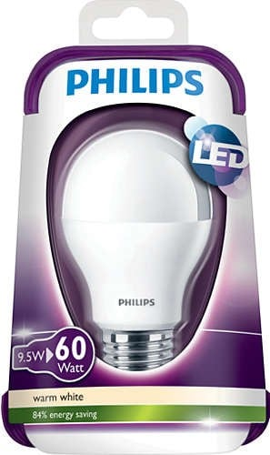 LED bulb PHILIPS 9W 806 lm