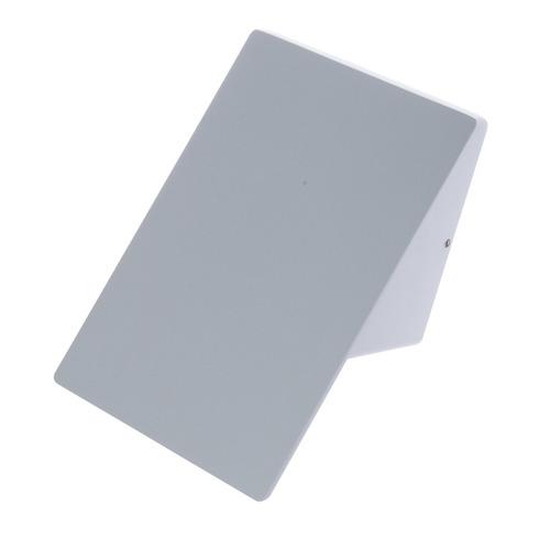 Plain 10 W LED IP44 White Facade Luminaire