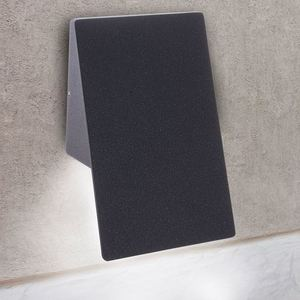 Gray Plain 10 W LED IP44 Facade Luminaire small 4