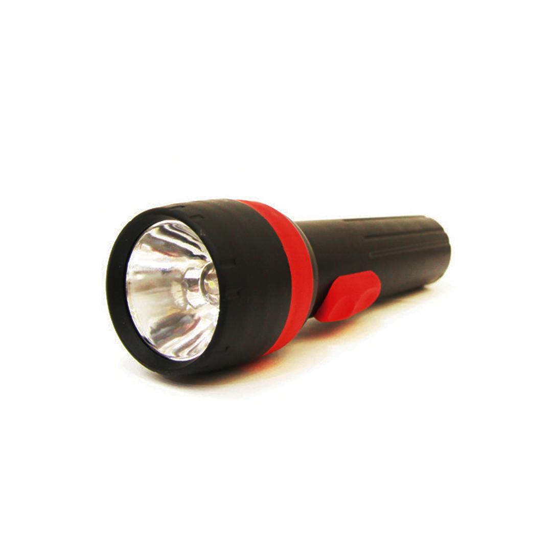 1 Led Black Flashlight