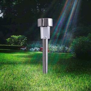 Silver Inox Solar Garden Lamp IP44 small 3