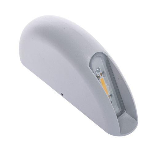 White Wall 3 W LED IP44 luminaire