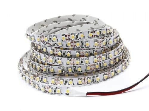 2.5m 120 Led tape. 24 W. Color: Warm White. Ip20