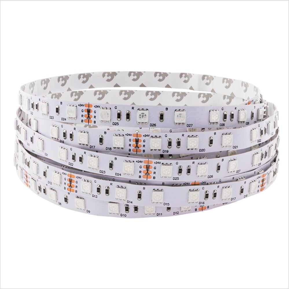 Tape 30 Led 36 W. Color Rgb. Ip20. (5 Meters)