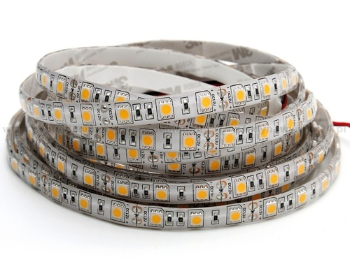 60 LED strip 72 W. Warm white color. Ip20. (5 Meters)