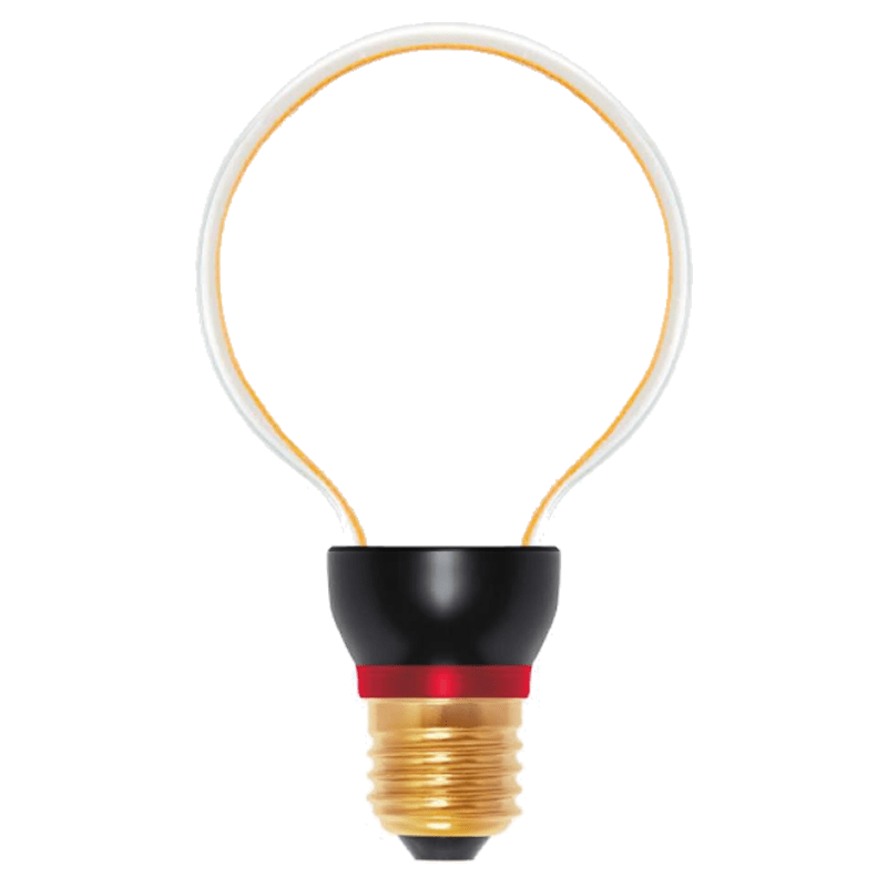 Decorative LED bulb ART Globe, 8 W, E27