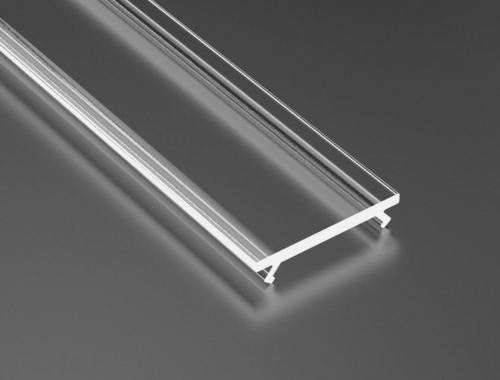 Transparent diffuser for 2m profiles