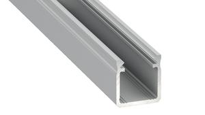 Aluminum profile, silver, type Y 2m + opal diffuser small 0