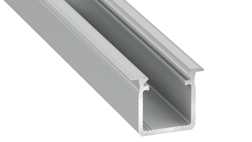 Sresbrny Aluminum Profile Type G 2m + Milk Cover