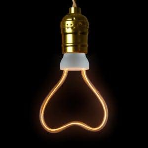 Decorative bulb LED Art Heart, 8W, E27 small 1