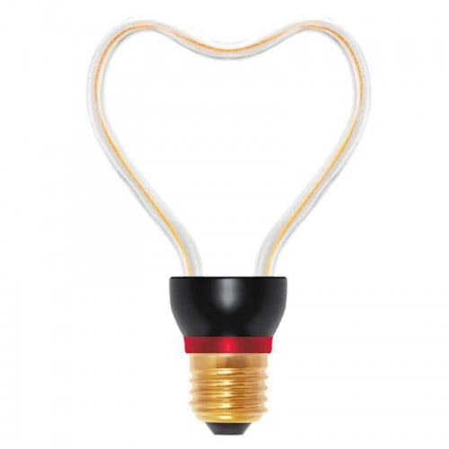 Decorative bulb LED Art Heart, 8W, E27