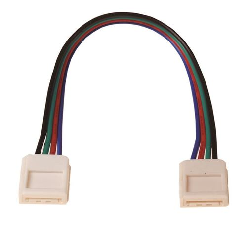 Led Rgb 10mm connector. Two-Sides connector.
